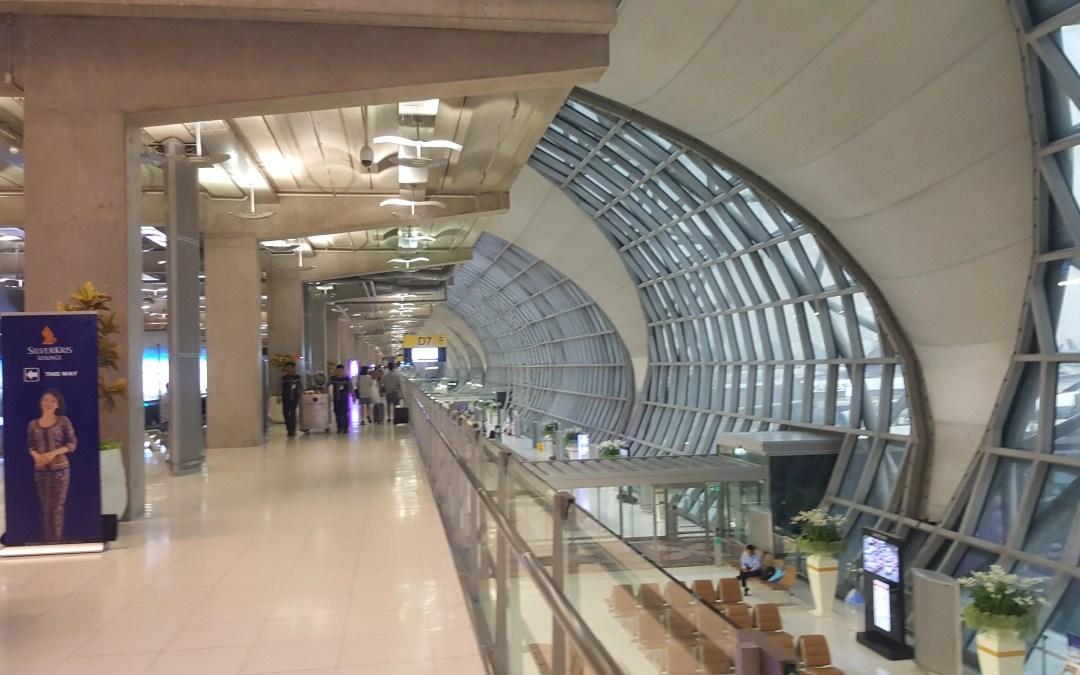 Transiting at Bangkok's Suvarnabhumi airport