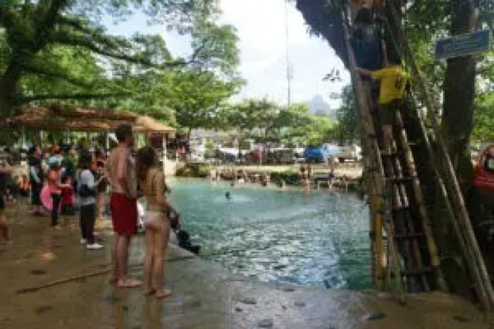 Lagoon Vang Vieng