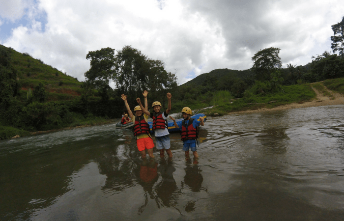 rafting family experience