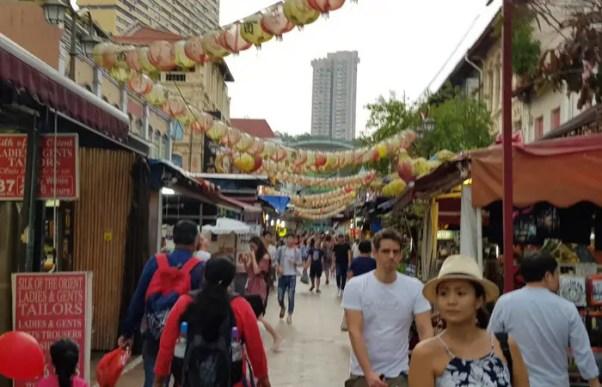 China town, Singapore.