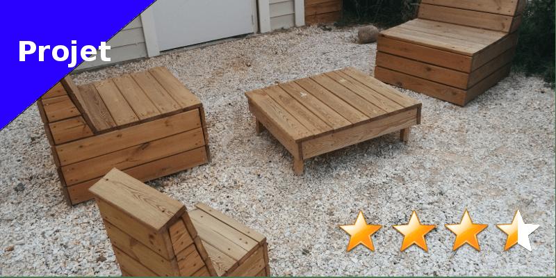 Fauteuil de jardin en bois - Faire soi-même