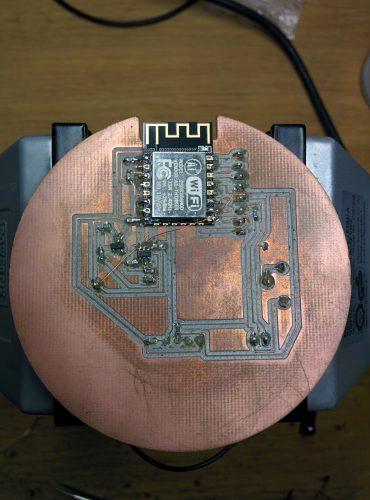 face -Capteur de température humidité version 1