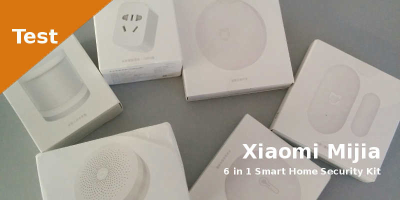 Test - Xiaomi mijia 6 in 1 Smart Home