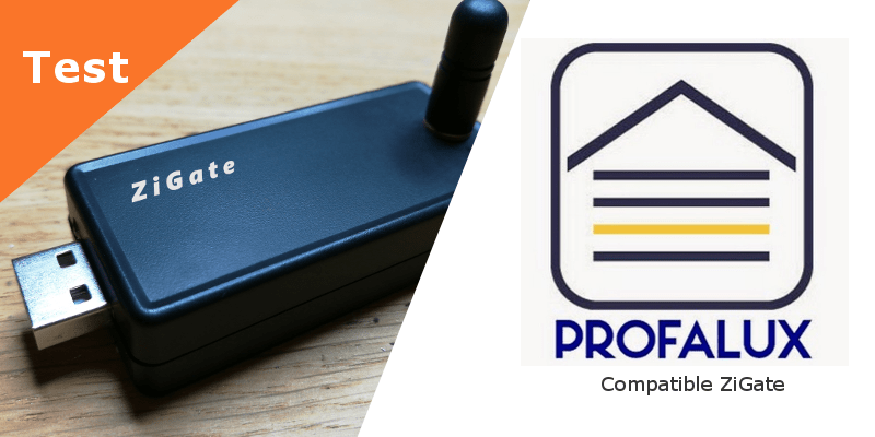 Profalux Zoe - compatible ZiGate