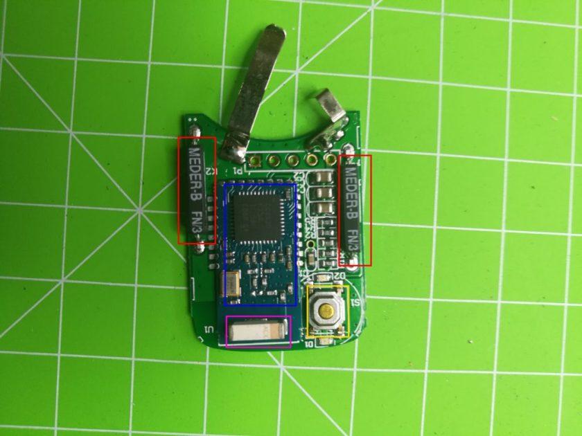 demontage capteur ouverture de porte orvibo 2