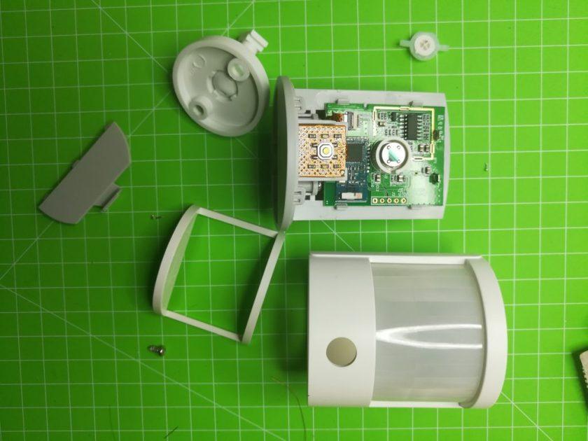 demontage capteur presence