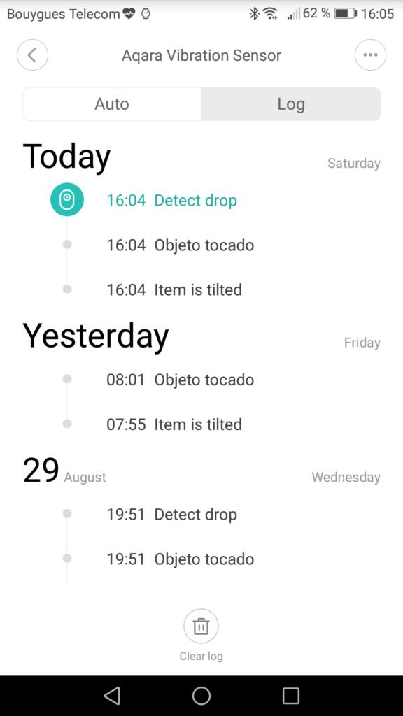 Xiaomi Vibration gatreway mobile