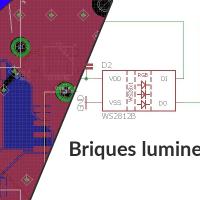 Briques lumineuses DIY personnalisables - Partie 1