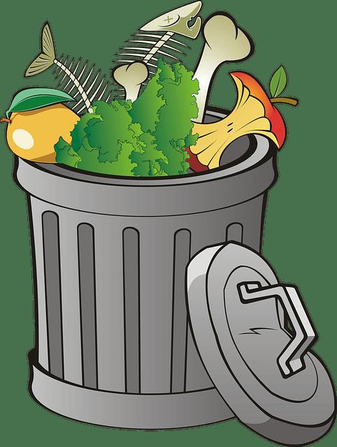 Poubelle pour compost