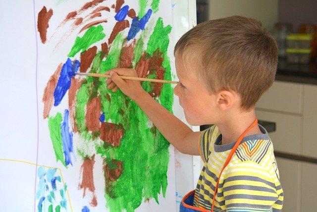 Art thérapie enfant et bienfaits