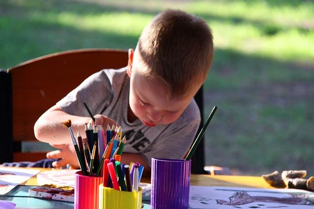 Bienfaits art enfant