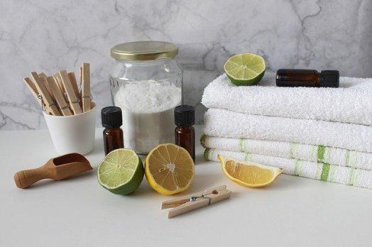 Huile essentielle pour laver son linge