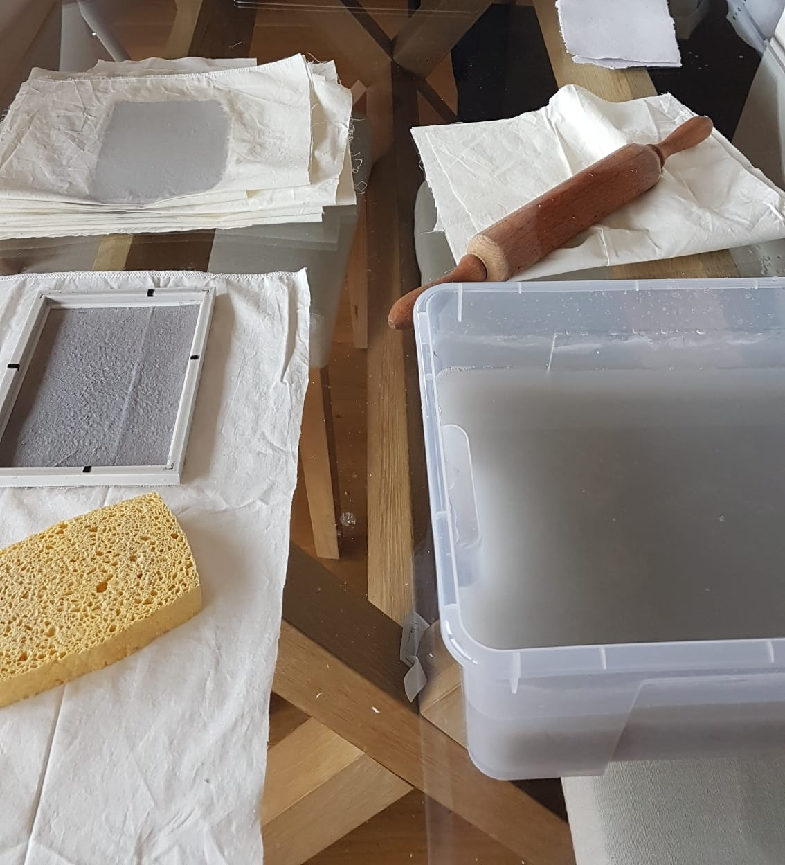 Atelier DIY recyclage de papier