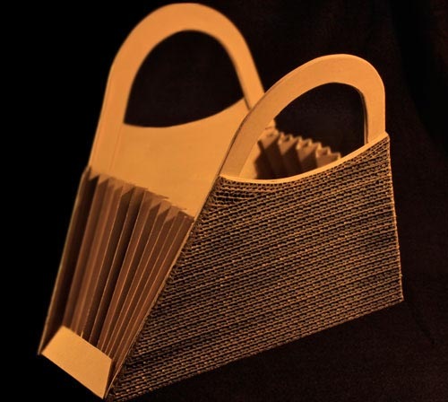 modle de sac  main  faire soimme en carton ou en papier