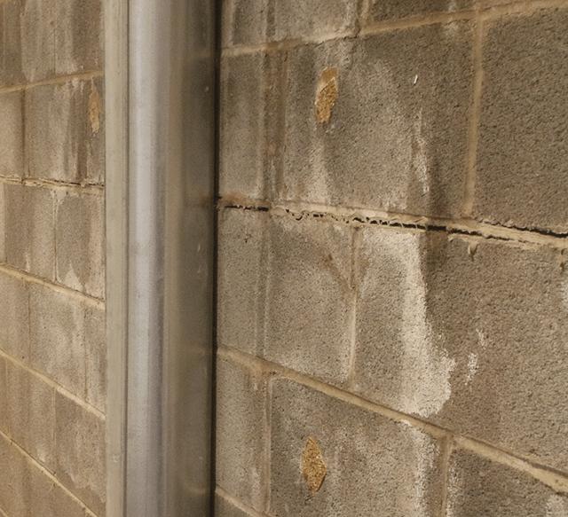 cracked block foundation repair