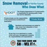 Snow removal responsibilities
