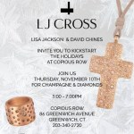 Copious Row + LJ Cross - Kickstart the Holidays by Joining for Champagne and Diamonds
