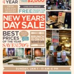The New Year's Day Event at the Lillian August