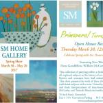 Spring Art Show Open House at Sandra Morgan Interiors & SM Home & Art Gallery