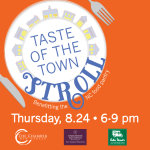 2017 Taste of The Town Stroll - by the New Canaan Chamber of Commerce