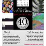 40th Annual Member Show Opening Reception at Carriage Barn Arts Center