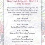 Greenwich Design District Taste & Tour at Lillian August Greenwich