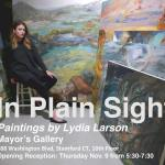 In Plain Sight: Paintings by Lydia Larson at The Mayor's Gallery