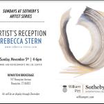 Sundays at Sotheby's - Rebecca Stern - Artist Reception at Rowayton Brokerage