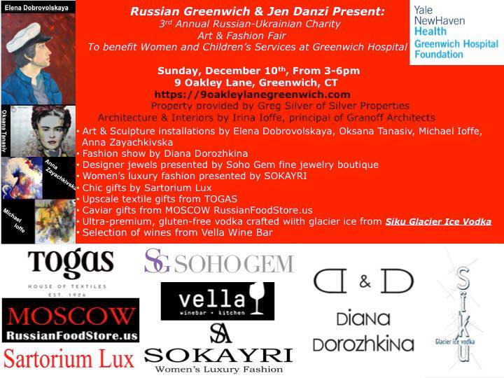 3rd Annual Russian-Ukrainian Charity Art & Fashion Fair