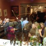 Abstract Holiday Cheers at X.po.zur Gallery