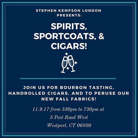 Bourbon Tasting & Cigars Rolling at Stephen Kempson London