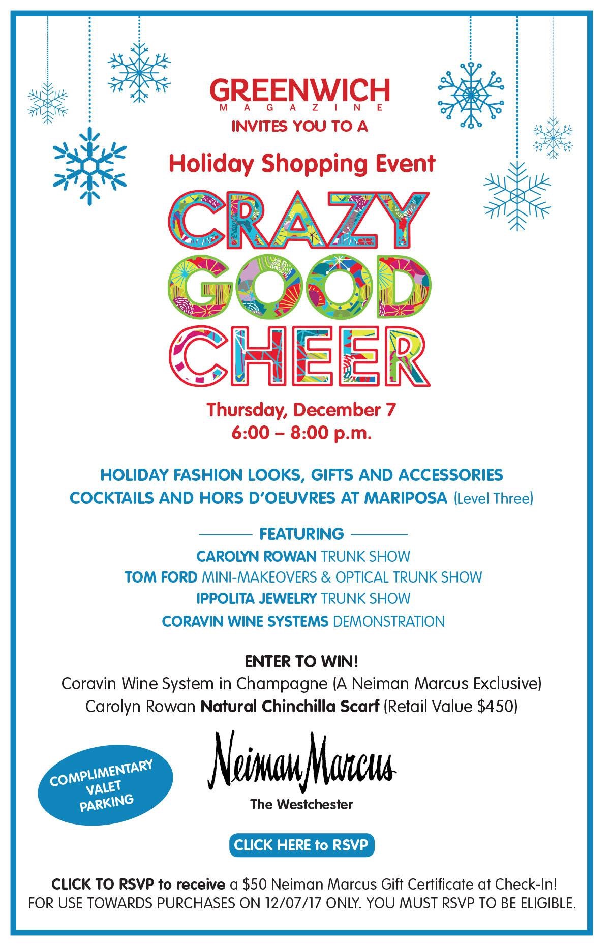 Holiday Shopping Event at Neiman Marcus