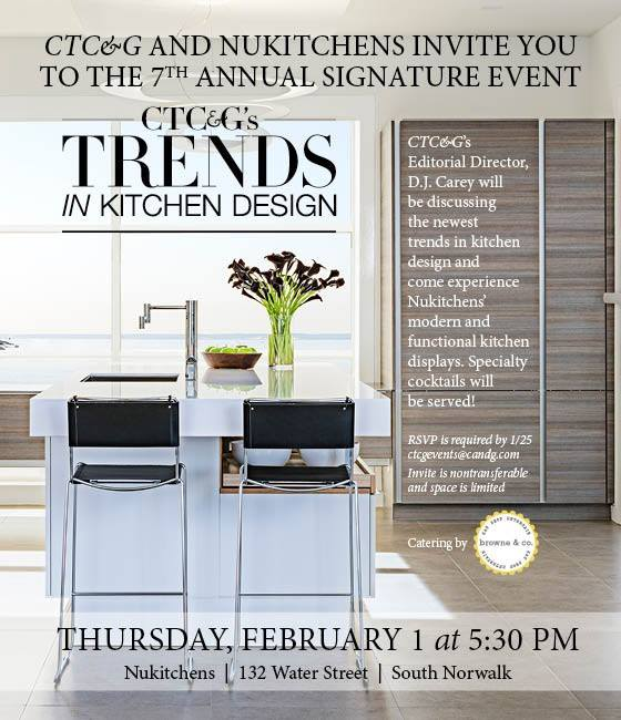 7th Annual Trends in Kitchen Design at NuKitchens