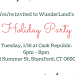 WunderLand Holiday Party at Cask Republic Stamford