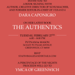 Book Signing with Dara Caponigro on her book The Authentics at Putnam & Mason