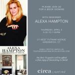 Book Signing with Alexa Hampton at Circa Lighting