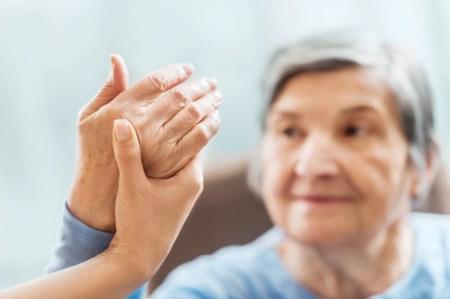 A senior woman receiving physical therapy. [url=http://www.istockphoto.com/search/lightbox/9786662][img]http://dl.dropbox.com/u/40117171/medicine.jpg[/img][/url]