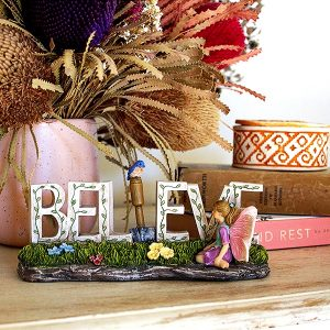 Believe Fairy Ornament