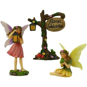 Enchanted Fairy Set - Fairy Figurine