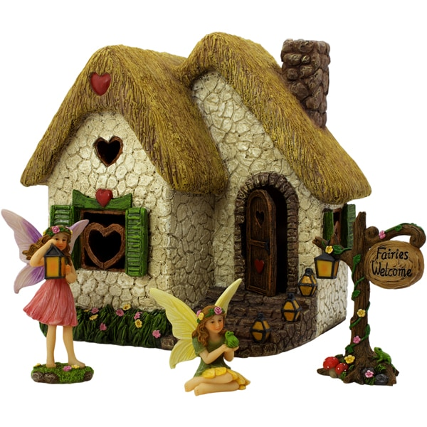 Enchanted House Set - Fairy Garden House
