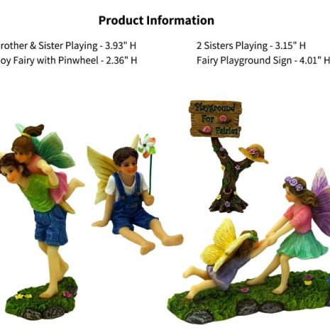 Fairy Playground Set - Fairy Garden Accessories 5