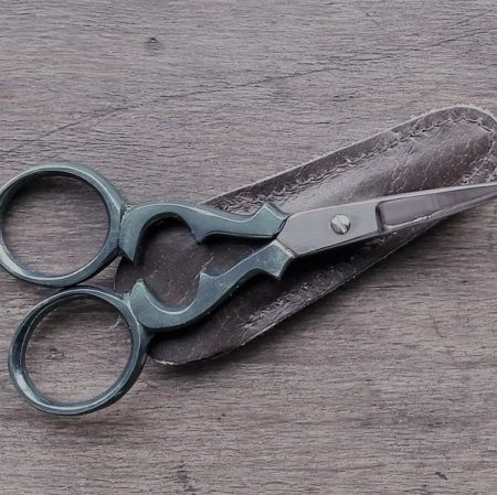 Image of a pair of scissors illustrating the the Fairisle article Small change, big impact