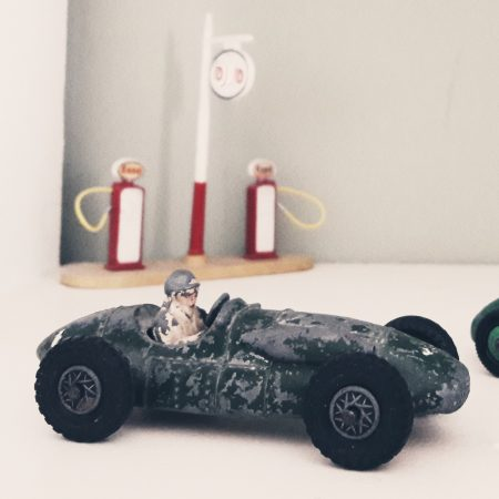 Image of a toy race car illustrating the Fairisle article Find your focus