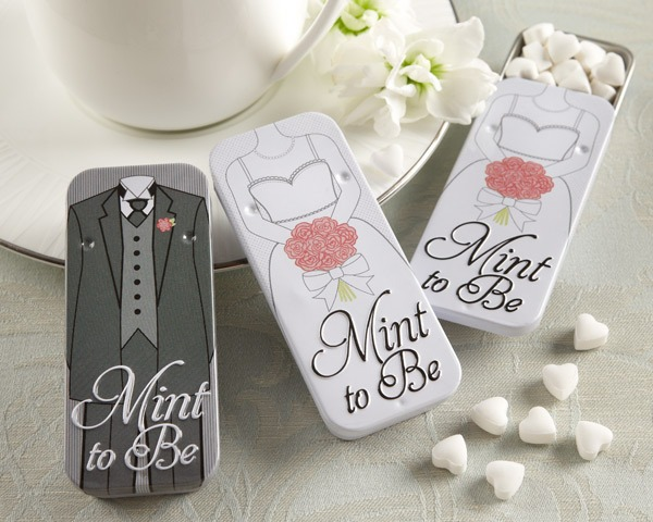 Bride and Groom Mint Tins  |  Fairly Southern