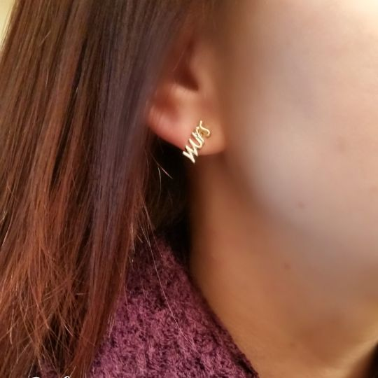 Mrs. Earring Studs by Everyday Icing - Fairly Southern
