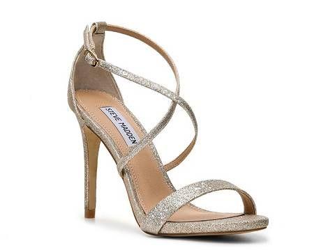 Steve Madden Feliz Glitter Sandal - Fairly Southern