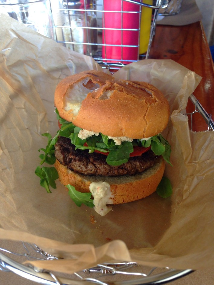 Gluten-free burger | Fairly Southern
