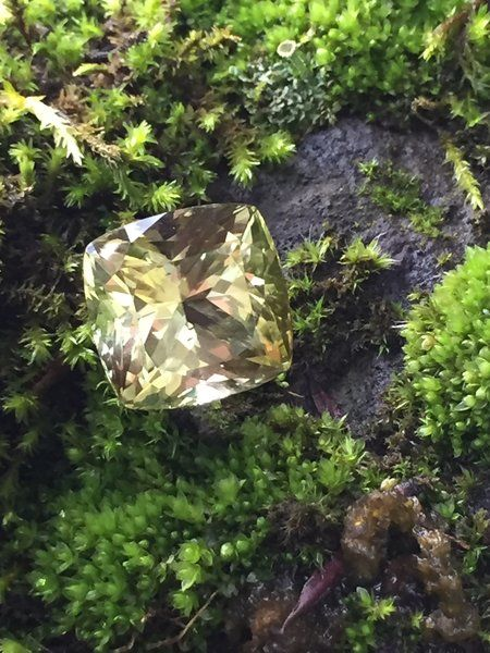 Green Beryl Gemstone from Elephant Gems (Ethically sourced, socially responsible)   Fairly Southern