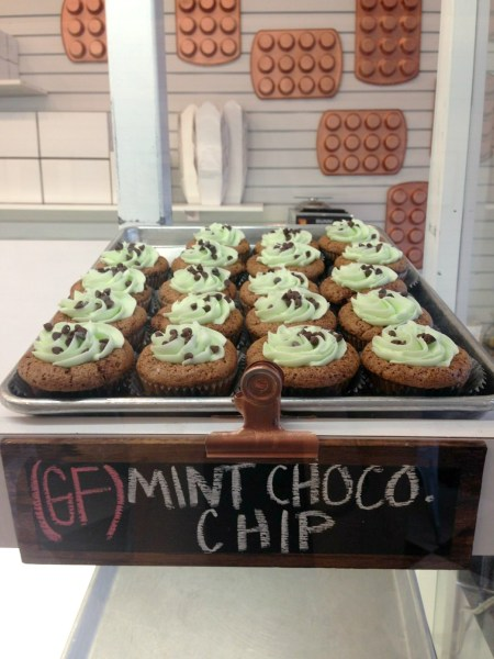 Gluten-Free Mint Chocolate Chip Cupcakes from Carytown Cupcakes in Richmond, Virginia | Fairly Southern