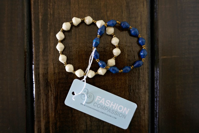 """Giveaway!! Fashion & Compassion """"Affinity"""" bracelets, handmade in Uganda. 
